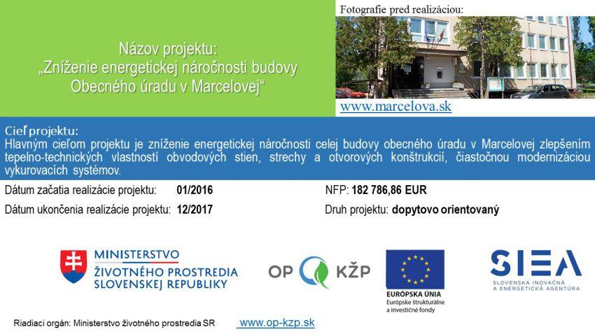 019b25527 Oficiálne stránky obce Marcelová - Oznamy